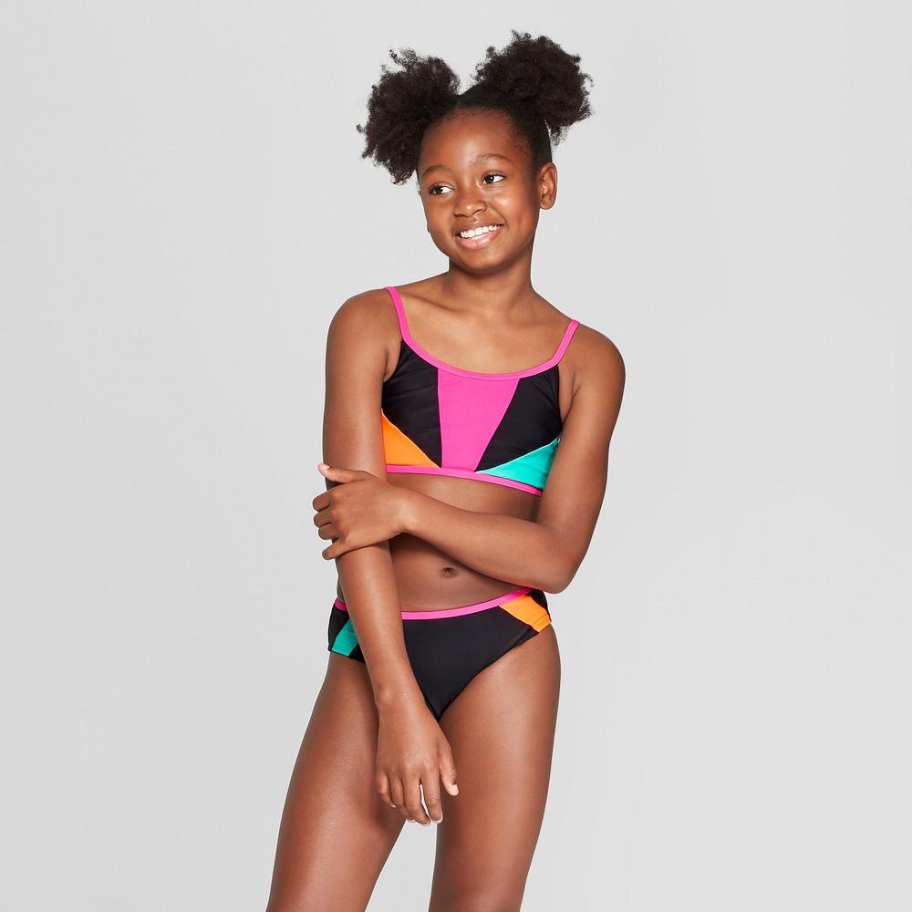 Girls' Bombshell Bikini Sets - art class Black L