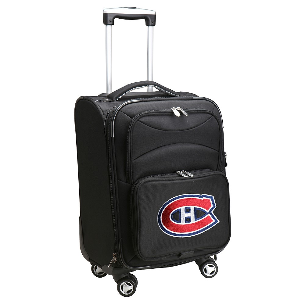 NHL Montreal Canadiens Mojo Spinner Carry On Suitcase