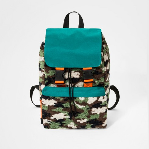 Boys' Sherpa Utility Backpack - Cat & Jack™ Green - image 1 of 4