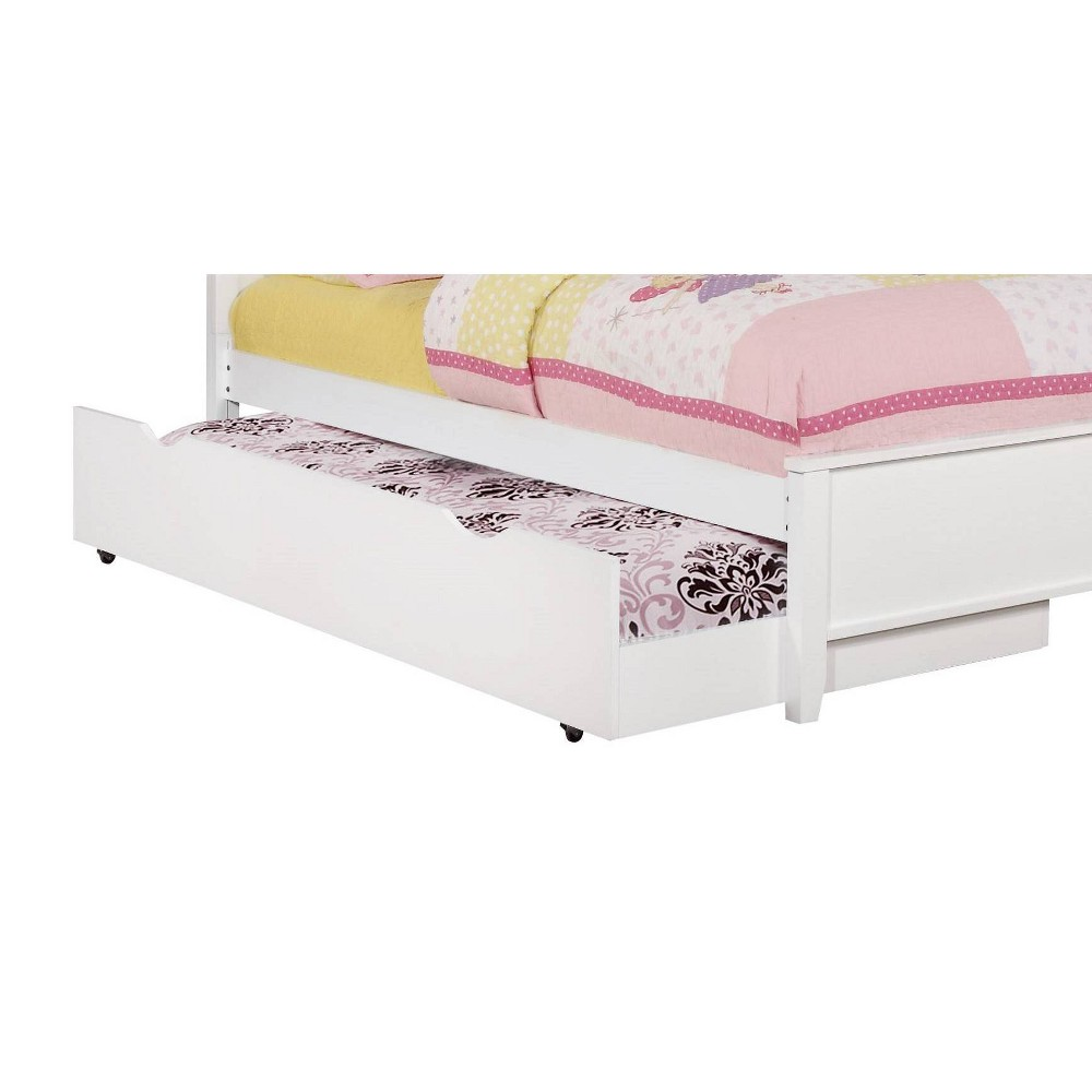 Carrington Trundle Bed (Trundle Only) White - Private Reserve