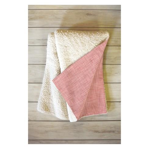 50 X60 Holli Zollinger Marsala Light Throw Blanket Pink Deny Designs