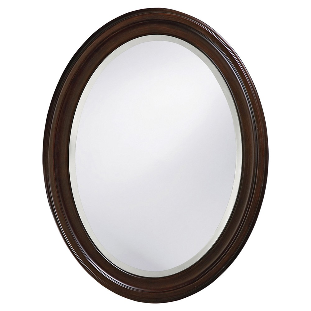 Howard Elliott - George Chocolate Brown Mirror, Chocolate Heather