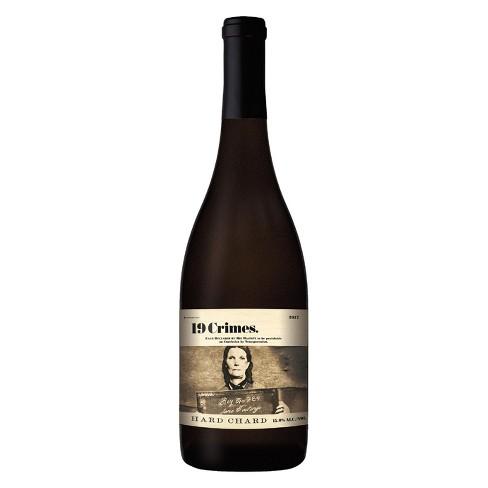 19 Crimes Hard Chardonnay White Wine - 750ml Bottle - image 1 of 3