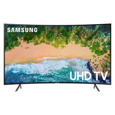 Samsung 55  Smart Curved UHD TV - Black (UN55NU7300FXZA)
