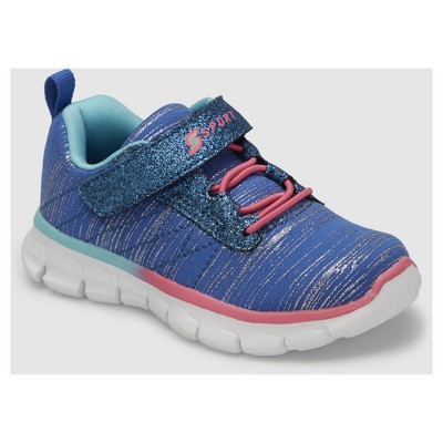933262af2479 Toddler Girls  S Sport By Skechers Footle Performance Athletic Shoes - Blue  11