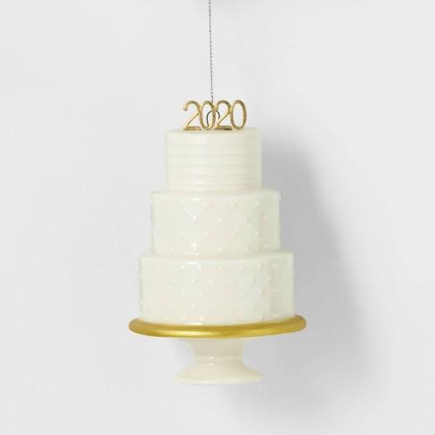 Wedding Cake Christmas Ornaments 2020 3 Tier Wedding Cake 2020 White Christmas Tree Ornament