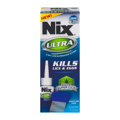 Nix® Ultra 2-IN-1 Lice & Eggs Solution - 3.4 oz - image 1 of 4