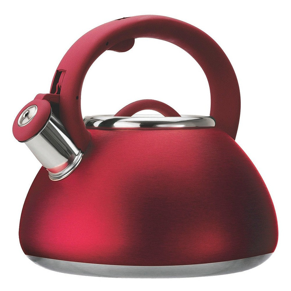 Primula Avalon Whistling Tea Kettle - Red