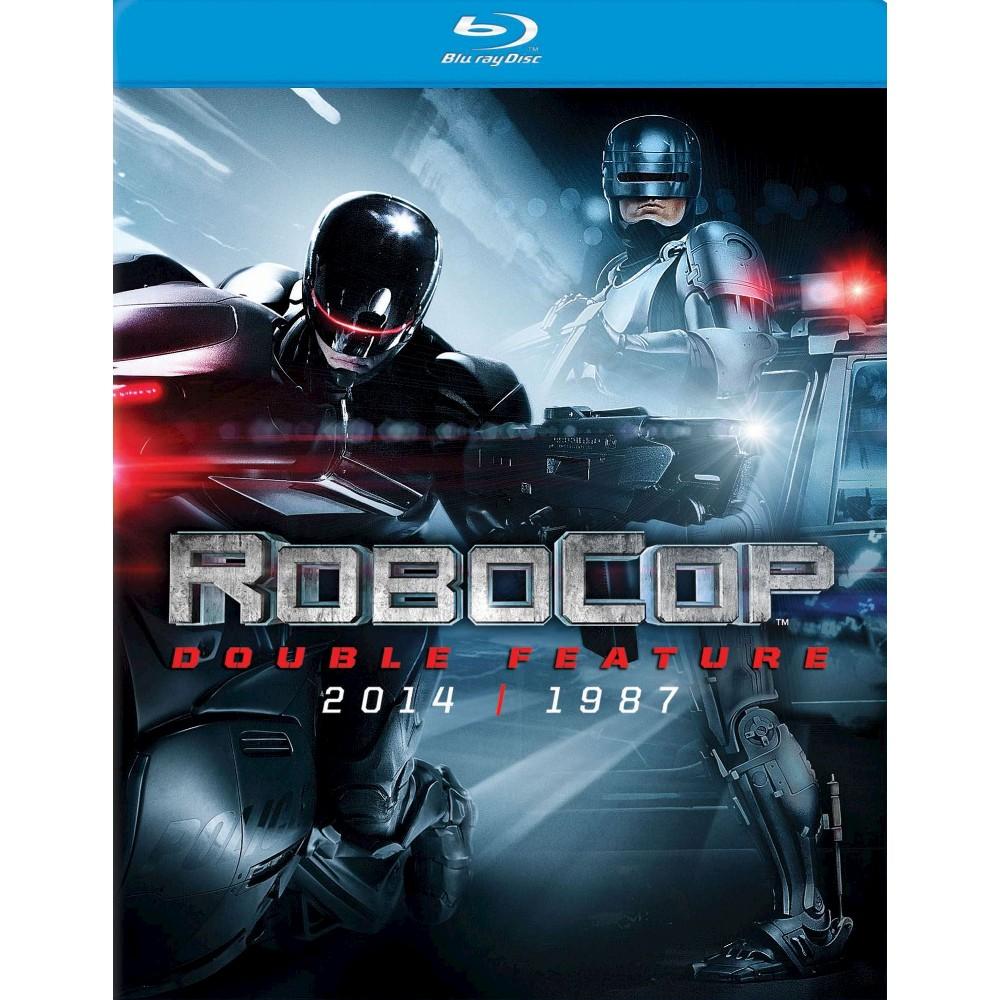 Robocop 1987 Robocop 2014 Blu Ray 2014