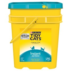 Purina Tidy Cats Clumping Instant Action Cat Litter - 35 lbs