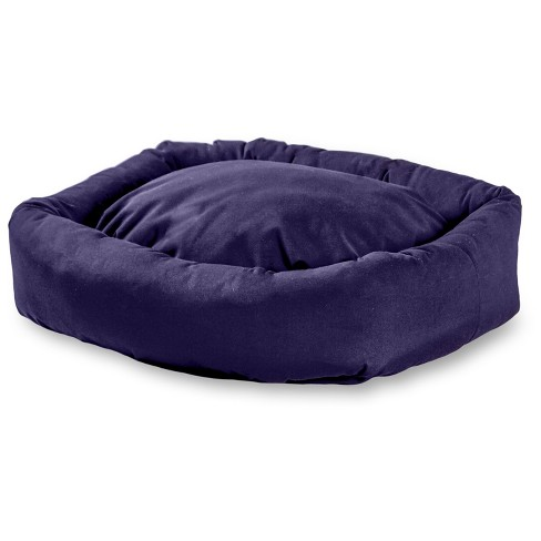 Greendale Fashions Happy Hounds Max Rectangle Indoor/Outdoor Bumper Dog Bed - Navy - Medium/Large - image 1 of 2
