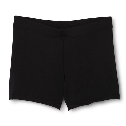 Danz N Motion&#174 by Danshuz&#174 Girls' Activewear Shorts Black L - image 1 of 1