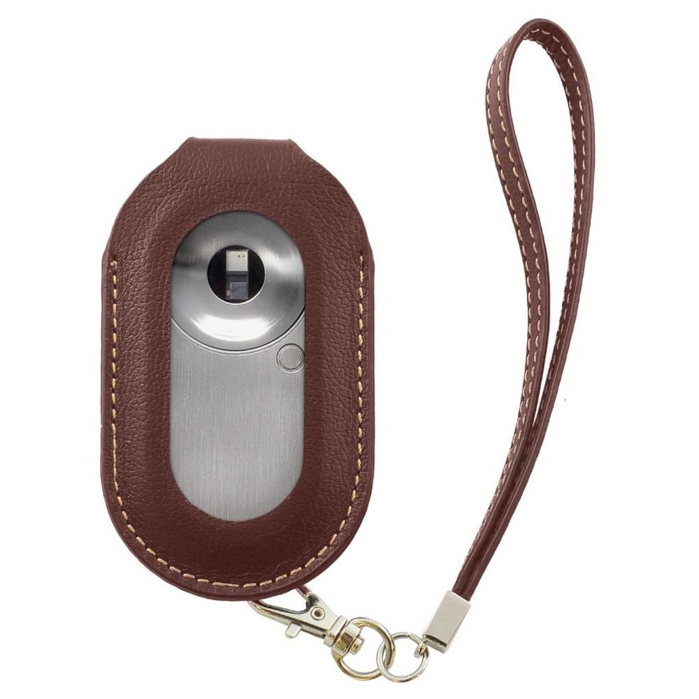 Mocaheart Leather Keychain