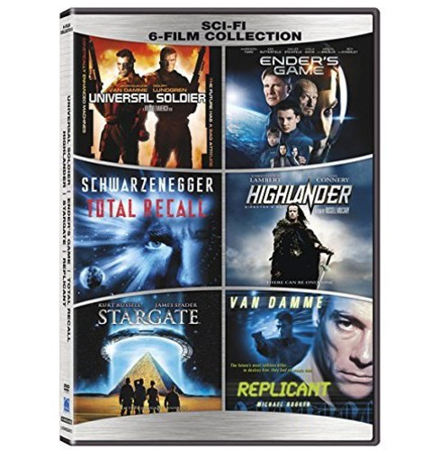 Sci Fi 6 Film Collection (DVD) - image 1 of 1