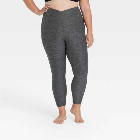 """Women's Contour Curvy Brushed Back Ultra High-Rise 7/8 Leggings 25"""" - All in Motion™ - image 1 of 2"""