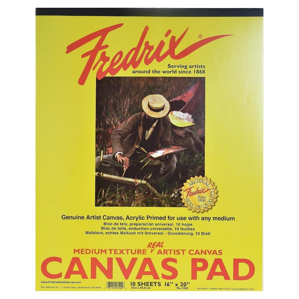 "Image of ""Fredrix Canvas Pads, 16 X 20"""""""