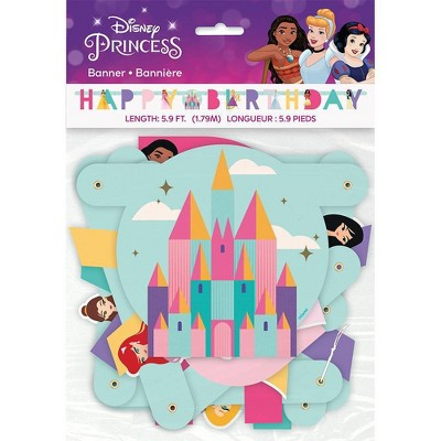 Disney Princess Jointed Banner Party Decorative Accessory