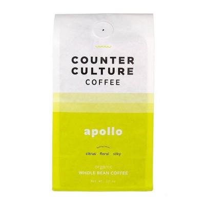 Counter Culture Apollo Whole Bean Medium Roast Coffee -12oz