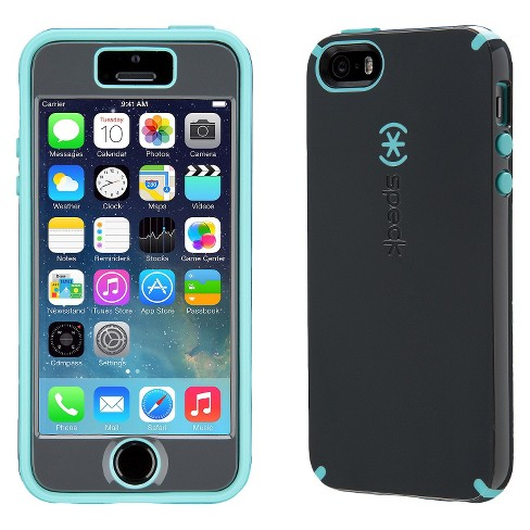 new arrival 6969b 7dfc2 Speck Apple iPhone 5/5s/SE CandyShell with Faceplate - Gray/Blue