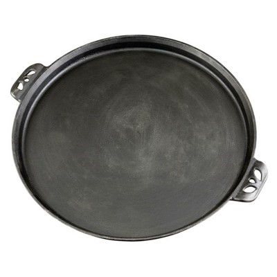 Camp Chef Cast Iron Pizza Pan - Black