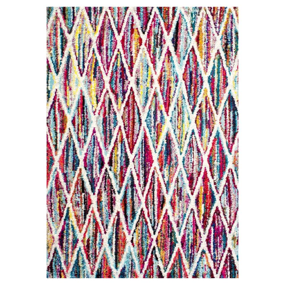 Solid Loomed Area Rug - (8'x10') - nuLOOM, Multicolored