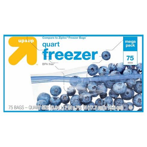 Quart Freezer Bags 75ct Up