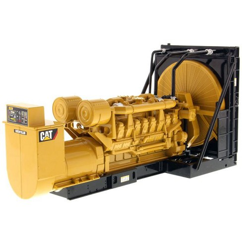 "CAT Caterpillar 3516B Engine Generator 3-Piece Set ""Core Classic Series"" 1/25 Diecast Model by Diecast Masters - image 1 of 2"