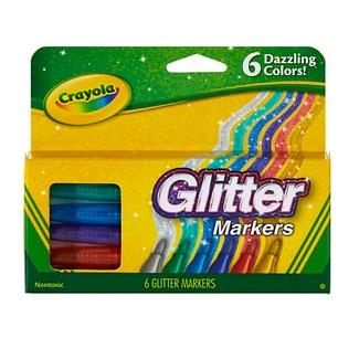 Crayola® Glitter Markers 6ct