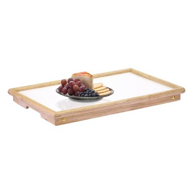 Breakfast Tray with Notched Handle
