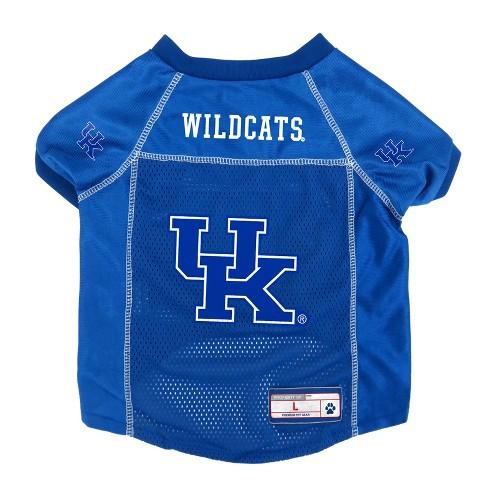 promo code 07ebe 0d3dd NCAA Little Earth Pet Football Jersey - Kentucky Wildcats