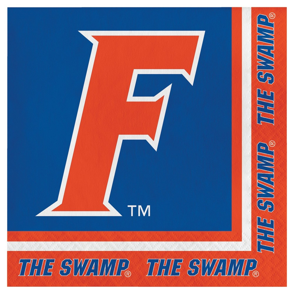 Image of 20ct University Of Florida Gators Napkins