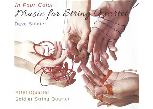 Dave soldier - In four color:Music for string quarte (CD) - image 1 of 1
