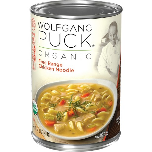 Wolfgang Puck Organic Chicken with Egg Noodles Soup 14.5-oz. - image 1 of 4