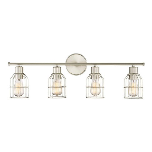 Brushed Nickel Vanity Wall Lights (Set of 4) - Z-Lite - image 1 of 1