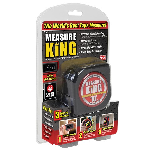 As Seen on TV Measuring Tape Black - image 1 of 6