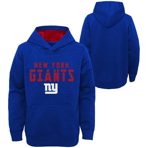 NFL New York Giants Boys' Double Knit Hoodie - image 1 of 3