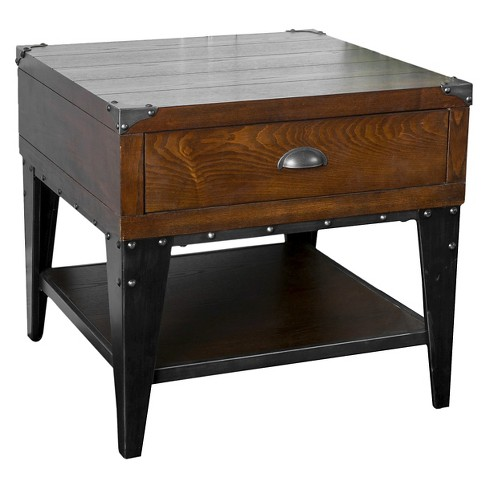 Quinn End table Dark Oak - Christopher Knight Home - image 1 of 4