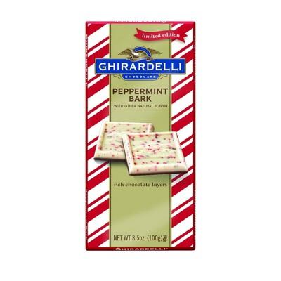Ghirardelli Holiday Peppermint Bark Bar - 3.5oz