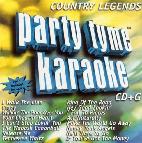 Party tyme karaoke - Country legends (CD) - image 1 of 1