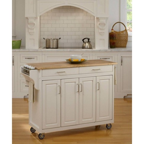 Kitchen Carts And Islands White Base Home Styles