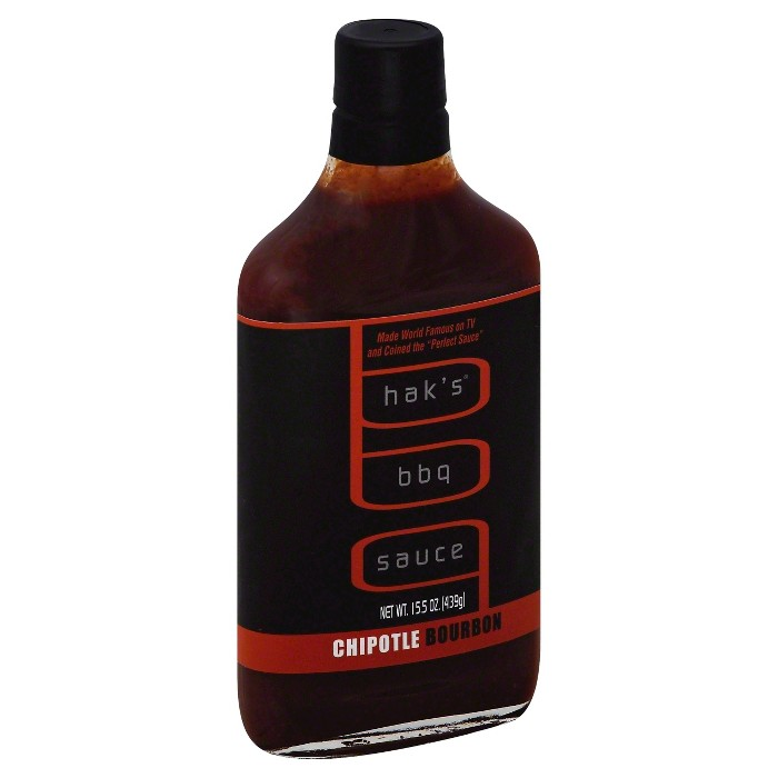 Hak's Chipotle Bourbon BBQ Sauce - 15.5oz - image 1 of 1