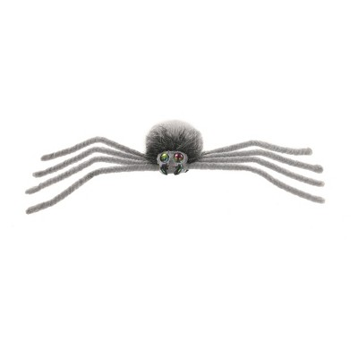 Medium Halloween Plush Spider Gray - Hyde and Eek! Boutique™