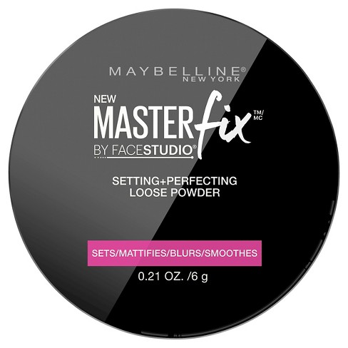 Maybelline Facestudio Master Fix Setting + Perfecting Loose Powder 10 Translucent 0.21oz - image 1 of 3