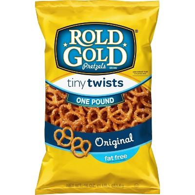 Rold Gold Fat Free Tiny Twists Pretzels - 16oz