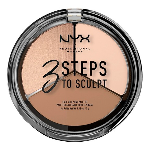 NYX Professional Makeup 3 Steps to Sculpt - image 1 of 3