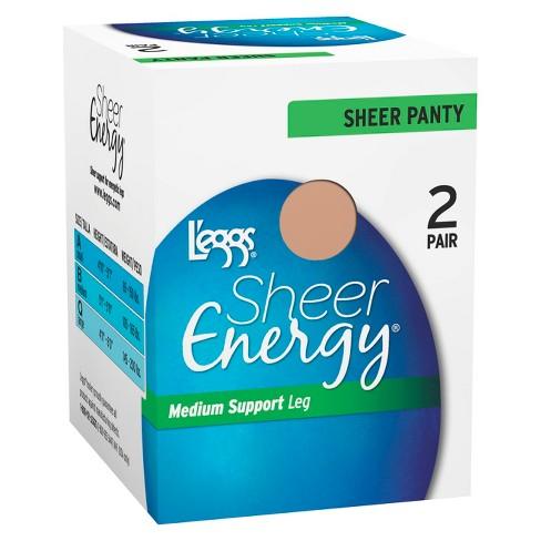 L'eggs® Women's 2-Pack Sheer Energy Sheer Pantyhose - image 1 of 2