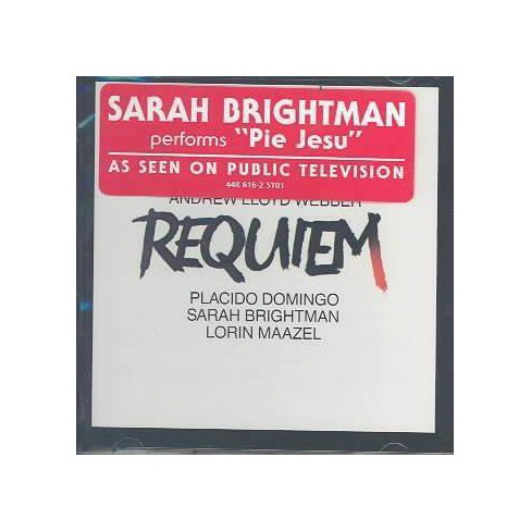 Lloyd Webber - Lloyd Webber: Requiem / Maazel, Domingo, Brightman (CD) - image 1 of 1