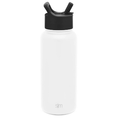 Simple Modern 32 oz Stainless Steel Summit Water Bottle with Straw Lid