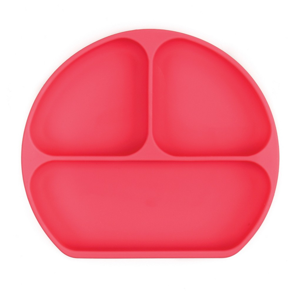Image of Bumkins Silicone Grip Dish - Red