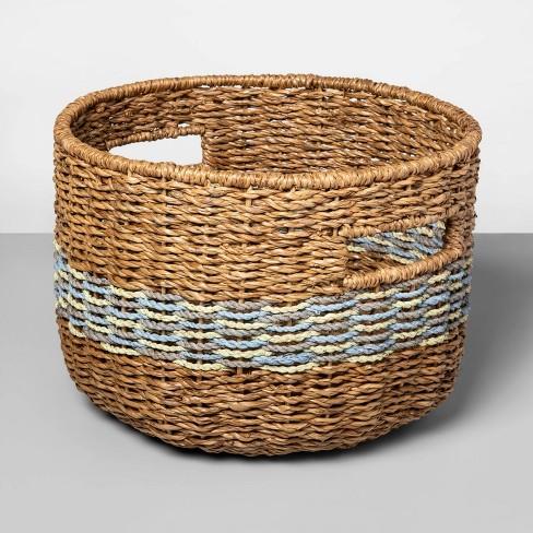 """9.25""""x13"""" Large Striped Basket - Opalhouse™ - image 1 of 1"""